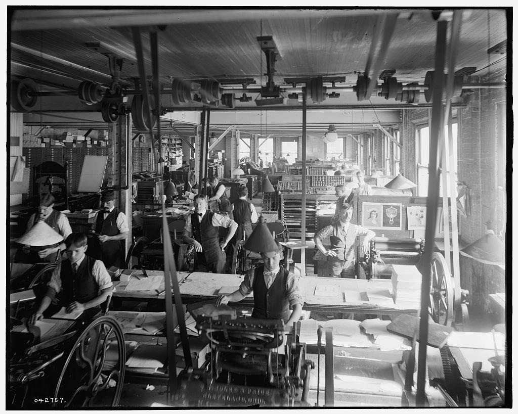 The history of Letterpress Printing Letterpress Printing in